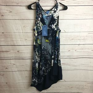 Simply Vera Wang Multi Sleeveless Tunic